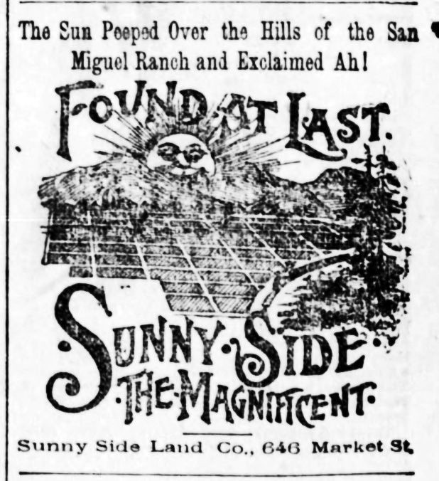 SF Examiner, 28 May 1891.