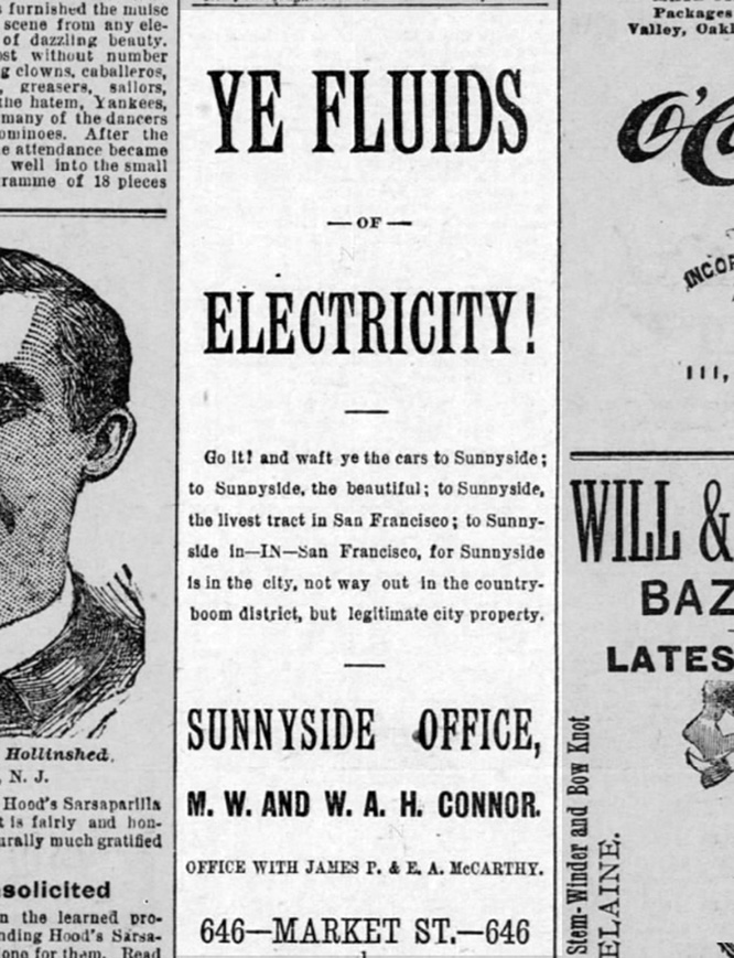 Slipping in to madness now. SF Call, 8 May 1891.