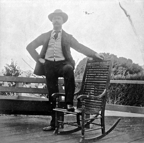 John Henry Mangels, 1880s. Photo courtesy Mark Reed.