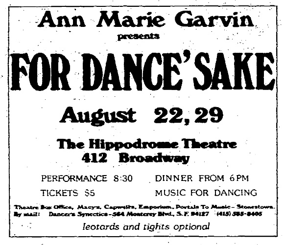 SF Chronicle, 21 Aug 1977.