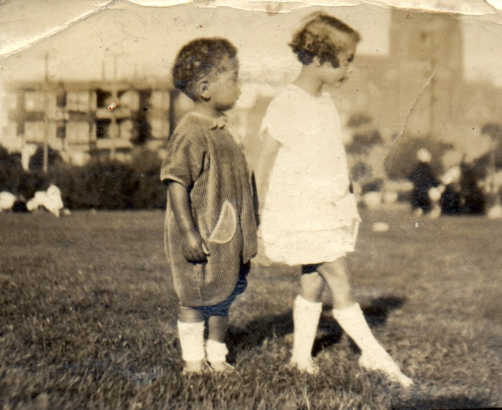 1928c. Donald Reid and Bertha Reid at Lake Merritt. Courtesy Charles Reid/Ivy Reid Collection.