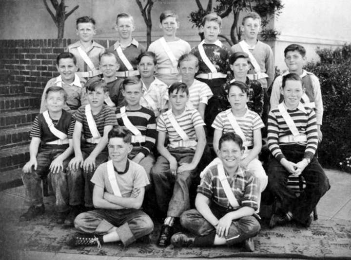 Crossing guards, Sunnyside School, 1946. Courtesy Bill Wilson.