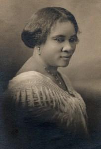 Madam C J Walker. Wikimedia.org.