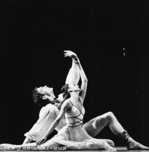 Photo: Bob McLeod, Diane Weber and Jim Sohm in Smuin's Romeo and Juliet, circa 1979. Museum of Performance and Design.