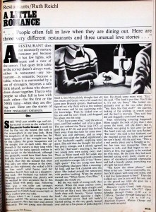 New West magazine, 25 Feb 1980. Used with permission of the author.