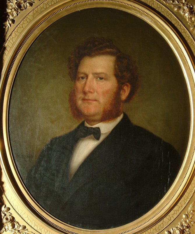 1870. Portrait of David Jackson Staples. SF Fine Arts Museums.