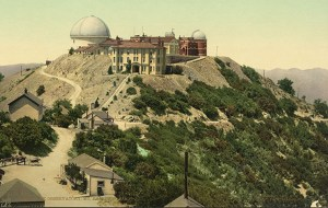1902. Lick Observatory on Mount Hamilton. Lick originally wanted it put in downtown San Francisco! ucolick.org.