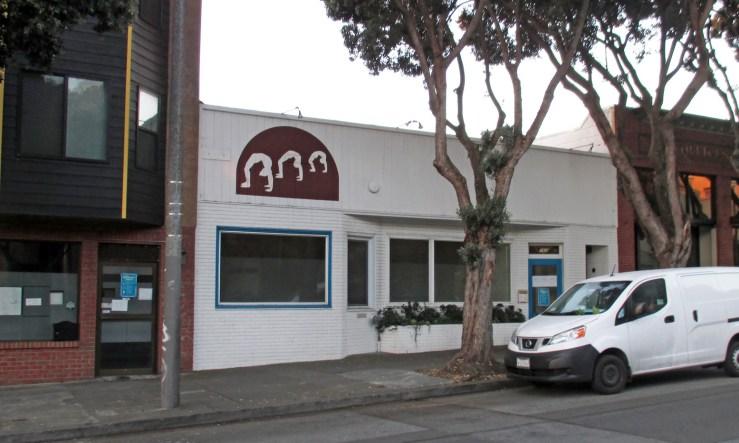 2020. 765 Monterey Blvd. Iyengar Yoga until recently. Photo: Amy O'Hair