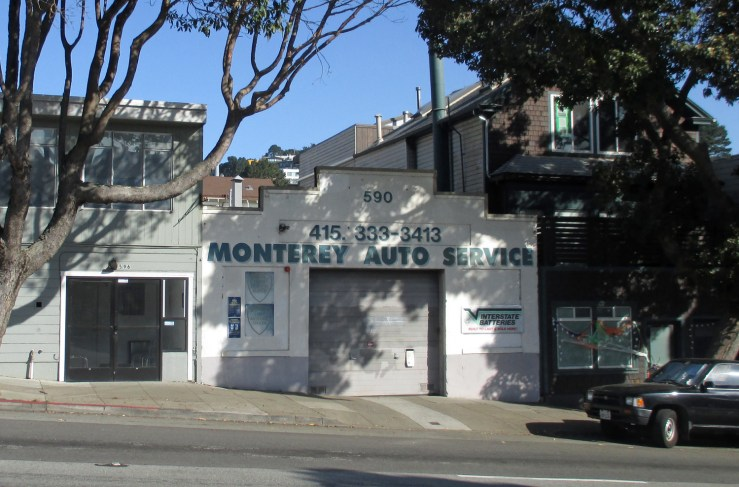 2020. 590 Monterey Blvd. Monterey Auto Service, since 2000s. Photo: Amy O'Hair