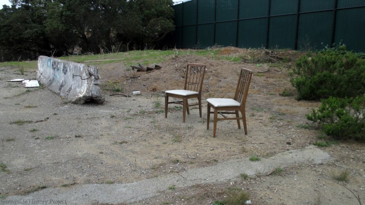 Balboa Reservoir, Oct 2020. Sunnyside History Project. Photo: Amy O'Hair