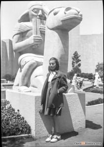 Sargent Johnson, Llama, 1939. Golden Gate International Exposition. OpenSFHistory.org
