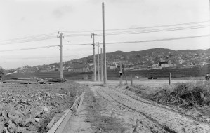 1910. Looking east on Havelock at San Jose. Courtesy SFMTA. sfmta.photoshelter.com. U02825