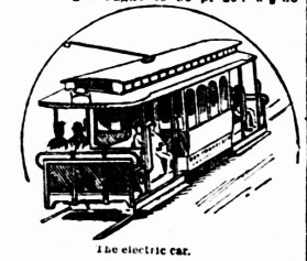 Electric Streetcar, SF Call, 27 Apr 1892.
