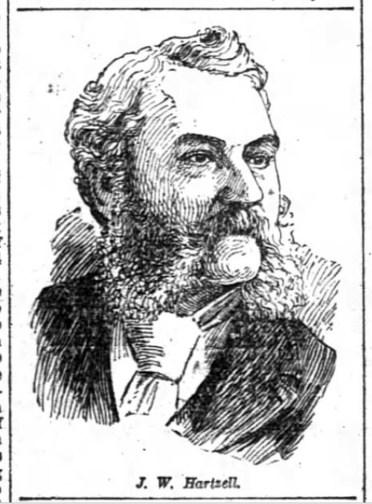 John Wesley Hartzell. SF Chronicle, 1 July 1892.