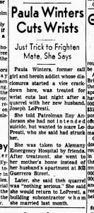 SF Examiner, 31 Dec 1954.