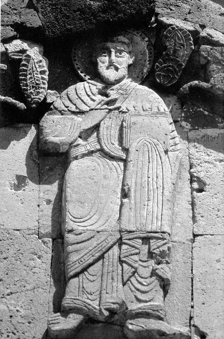 Armenian scuplture relief