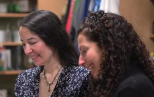 Deanna Yildiz works with VP of Sales, Tracy Milowitz