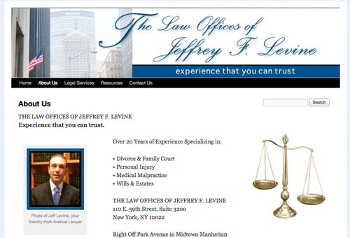 Jeff Levine website