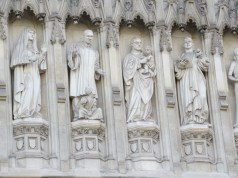 modern Saints at the West Door : Martin Luther King, Jr., & others