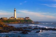 Pigeon Point Lighthouse, Cabrillo Highway, California