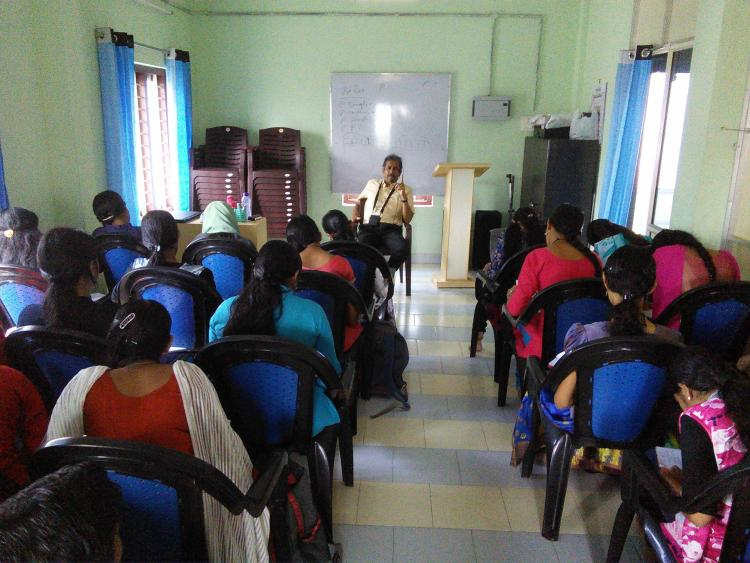 An English interaction with the students of Ablaze Civil Service Academy, Thrissur.