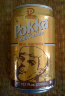 Can of Pokka Milk Coffee - Real Brewed