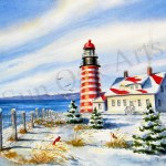 West Quoddy Lighthouse
