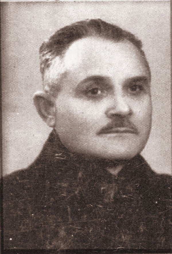 Протоиерей Димитрий Бежан в молодости