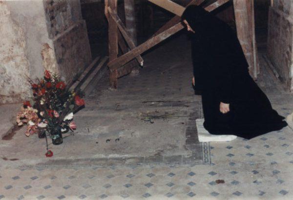 На Карповке у места захоронения святого праведного Иоанна Кронштадтского