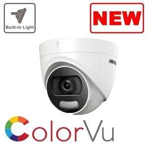 Camera Colorvu 5 MP DS-2CE72HFT-F