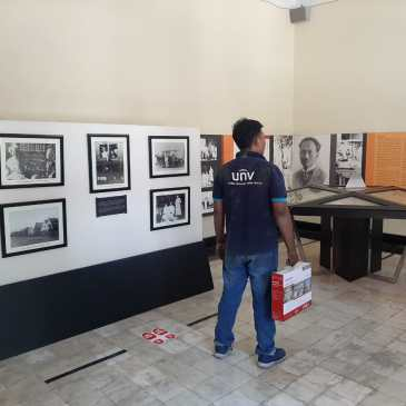 Pemasangan CCTV di GNI Surabaya || Gedung Nasional Indonesia