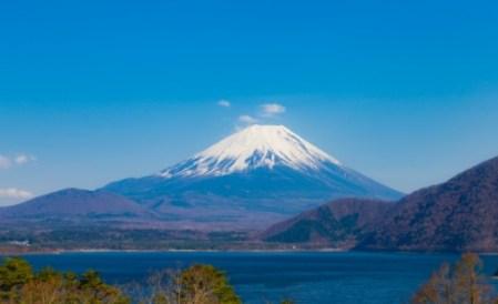 夏空の富士山