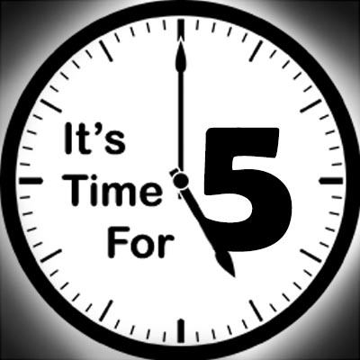 Its Time For Five