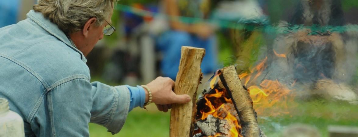 tending the fire
