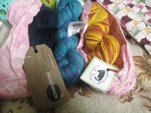Lovely lovely yarn! <3