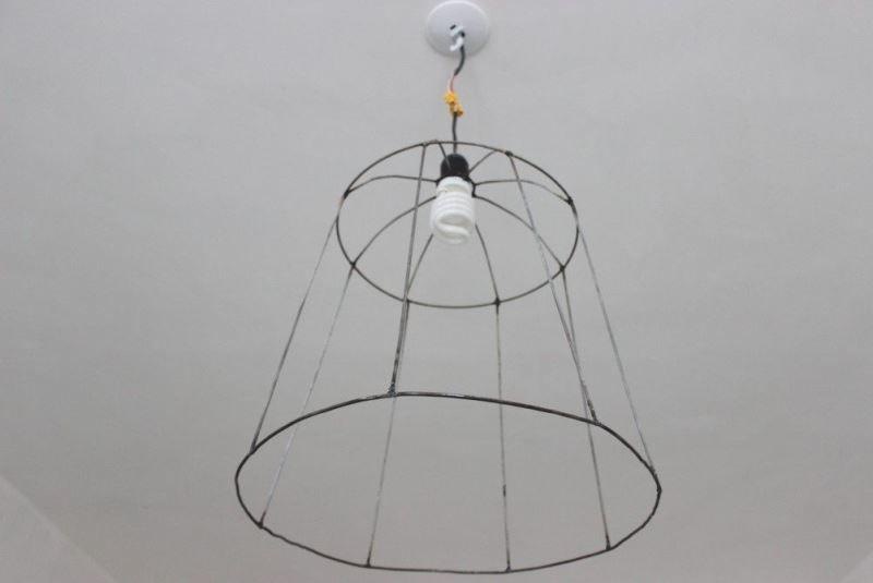 چگونگی ساخت یک قاب برای لامپ