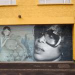Random image: Street Art  - Husky Brown