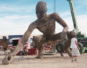 Art like this is one of the life-altering experiences we love best about Burning Man