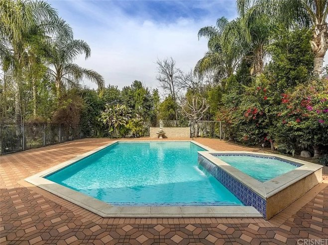 Pool Area from Patio
