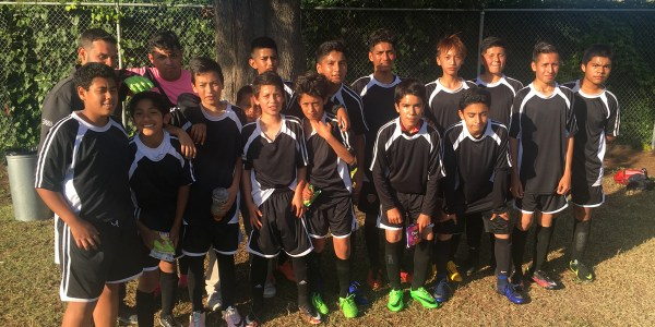 Boys' soccer team