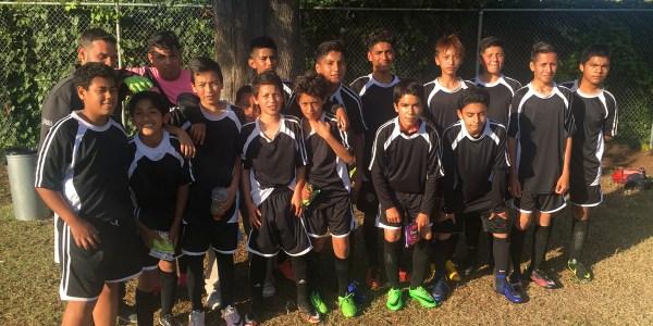 Boys' soccer team