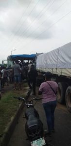 Fatal Accident Between Dangote Truck and BRT BUS in Lagos (PHOTOS)