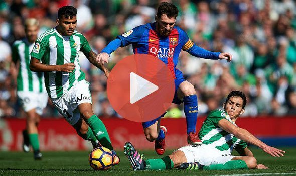 Watch Barcelona vs Betis Live Streaming
