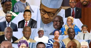 Buhari Assigns Portfolios To Ministers And Their Position (FULL LIST)
