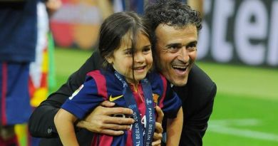 Enrique, Ex-Barca Coach loses 9-year old daughter to cancer