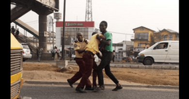 Couple beats up LASTMA officer trying to arrest them unlawfully [PHOTOS]