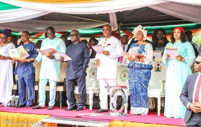 A/Ibom at 32: Gov. Udom leads celebration with thanksgiving