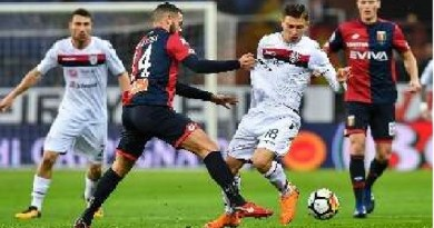 Watch Cagliari vs Genoa Live Streaming