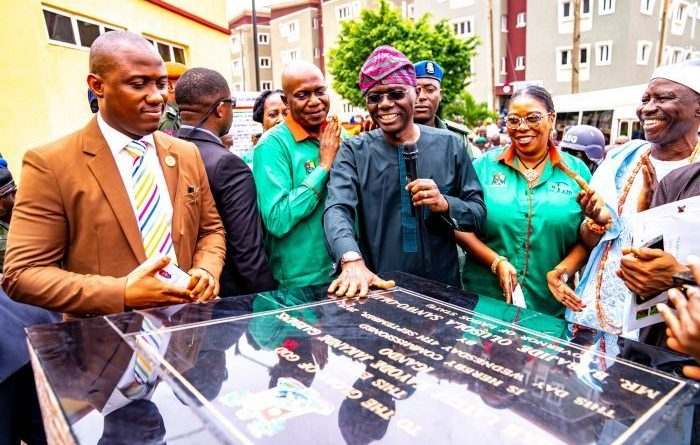 Sanwo-Olu Commissons Jakande Gardens, to deliver 1,248 homes in 6 months