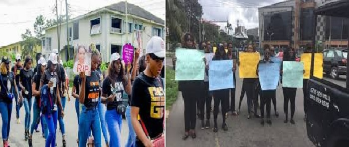 Mass Killing of girls in Port Harcourt's Hotels, Women Protest